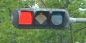 Shapes traffic signal