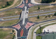 diverging diamond interchange