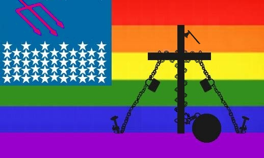 The flag of discrimination