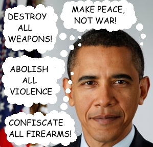 Obama the Peacenik