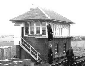Quintinshill signal box height